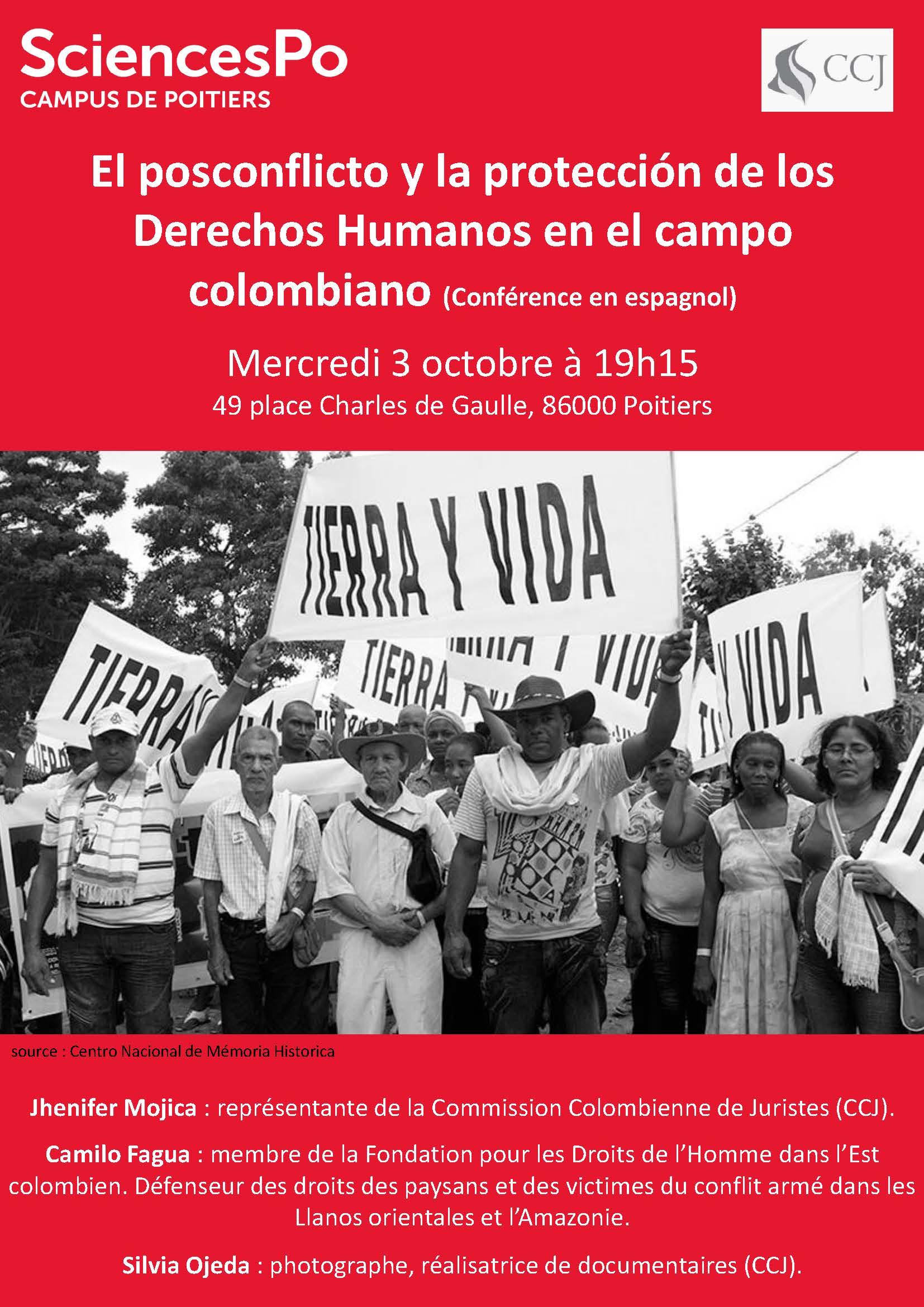 El posconflicto y la protección de los Derechos Humanos en el campo colombiano