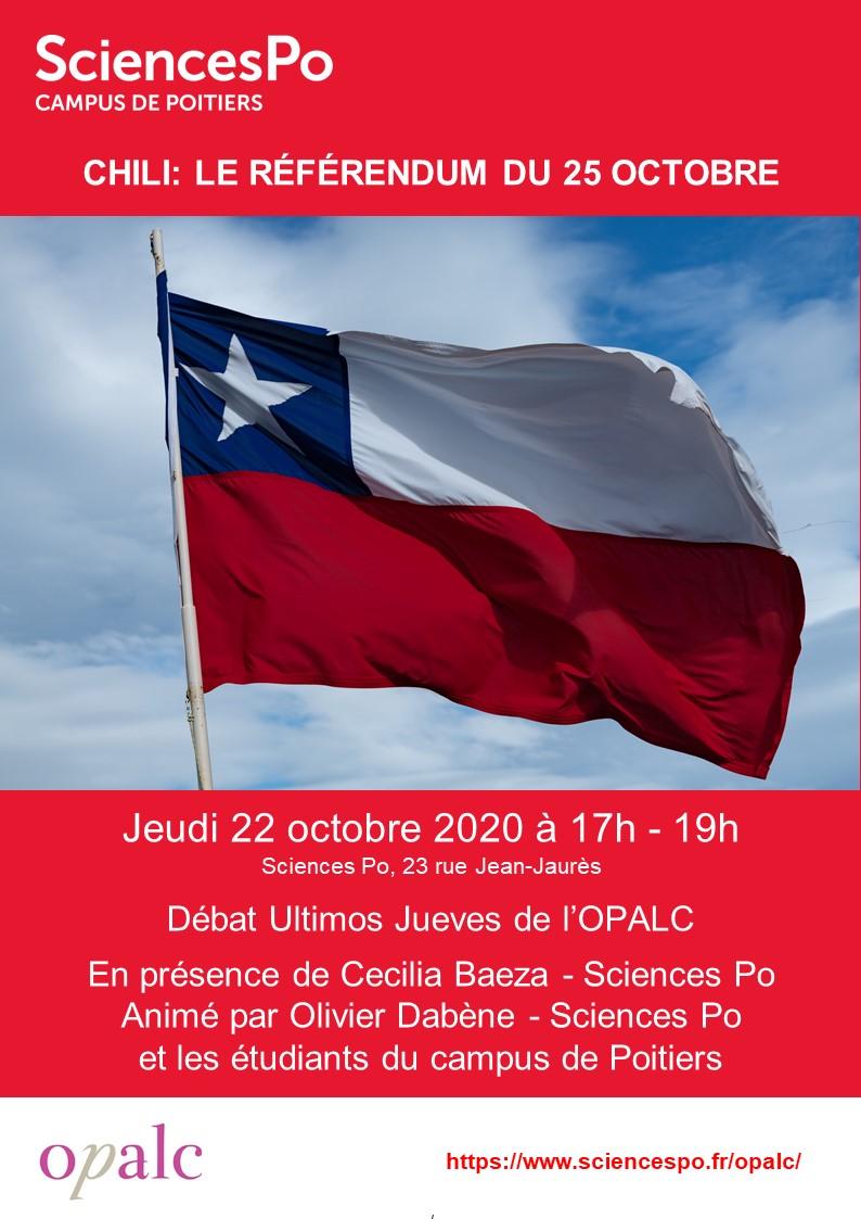 Chili: le référendum du 25 octobre