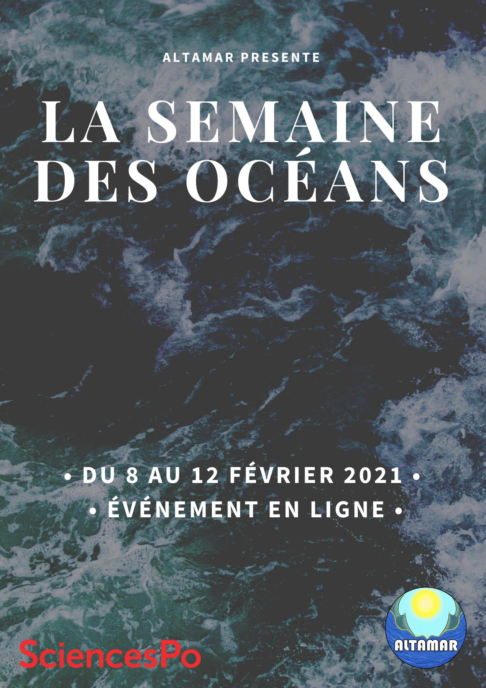 Cycle de conférences dans le cadre de La Semaine Des Océans