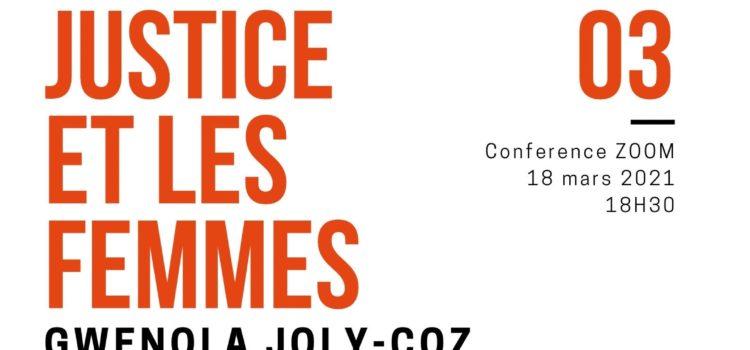 Conférence : La Justice et les Femmes