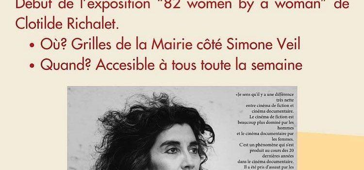 """Festival Art et Politique – Exposition """"82 women by a woman"""""""